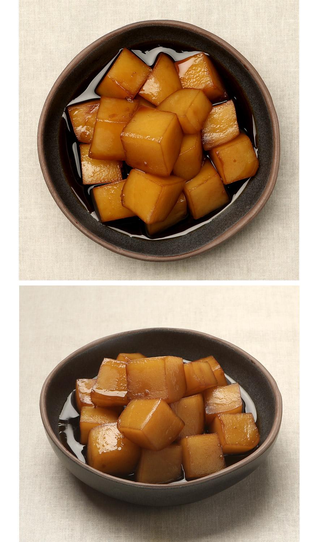 간장 감자조림 밥을 부르는 마법의 반찬 간장 감자조림이에요. 포근포근 잘 익은 감자에 맛있는 간장소스가 스며들어 짭쪼름하면서도 달콤한 맛이 일품입니다. 따뜻한 밥에 얹어서 먹거나 같이 비벼먹어도 맛있어요. 매일 먹어도 질리지 않는 베스트 반찬입니다.