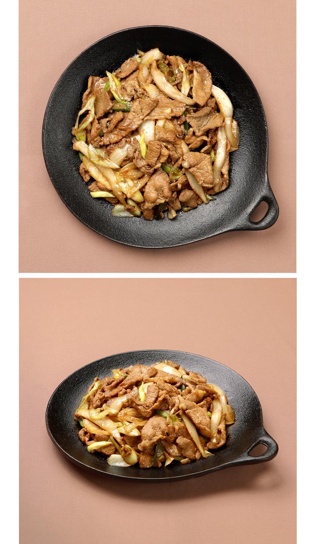 따끈따끈한 뽀얀 쌀밥에 간장 불고기를 척 얹어보세요. 먹고 있어도 군침 돌게 하는 특급 반찬이랍니다. 집반찬연구소 특제 간장 소스를 넣어 만든 한돈 간장불고기입니다. 국내산 돼지고기에 현미유, 해물장 등 건강한 재료만 넣어서 만들었어요. 아이들도, 어른들도 모두 함께 즐길 수 있는 기분좋은 달달한 맛입니다. 쌈채소를 곁들이면 더욱 맛있게 즐길 수 있어요.